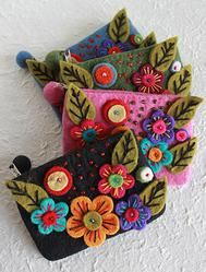 So cute and a great cause. Applique Purse