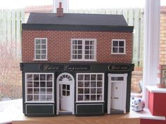 For Sale - Dolls House with Shop For Sale - The Dolls House Exchange