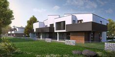 1st stage of Mamurowe Housing Estate in Lodz / Pierwszy etap osiedla Marmurowe to nowoczesna enklawa mieszkaniowa zrywająca z formułą typowych domów szeregowych. Apartamenty posiadają różnorodną strukturę i powierzchnię, a każde z sześciu mieszkań wchodzących w skład budynku szeregowego jest niepowtarzalne. Komfort mieszkańcom zapewniać będą indywidualne ogrody, plac zabaw oraz wewnętrzny parking z całodobową ochroną.