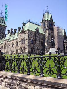 Capital of Canada in Ottawa.