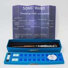 Sonic Wand - Harry Potter's wand meets Doctor Who's sonic screwdriver (WAAAANT).... the best of both worlds