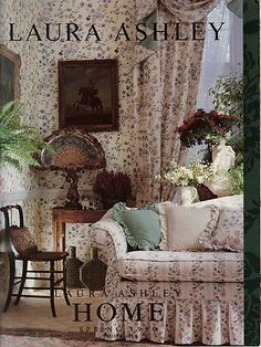 Laura Ashley Was A Welsh Fashion Designer And Businesswoman. She Originally  Made Furnishing Materials In The 1950s.She Later Expanded Into Clothingu2026