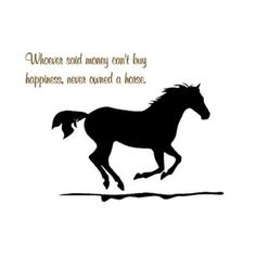 Amazon.com: Horse vinyl wall decal-horse quote sticker-26 X 17 inches-by aluckyhorseshoe