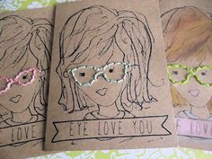 "DIY-Talk Nerdy to Me ""Eye Love You"" Valentine Book"