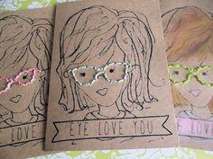 "DIY-Talk Nerdy to Me ""Eye Love You"" Valentine Book"