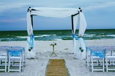 Enjoy the privacy of a beach house ceremony & reception at one of the select locations on Anna Maria Island with Simple Weddings Florida
