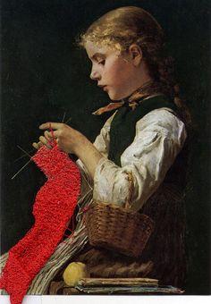 Fanny Viollet, Tricots, ouvrages et autres occupations.
