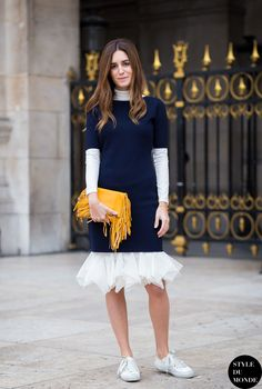 knitted dress 2017 with ruffled dress 2017 and sneakers