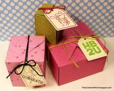 DIY Boxes ENVELOPE PUNCH BOARD – PART 2 | The Paper Crafting (In Danish but Google Translate can help you)