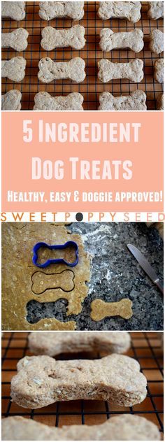 A healthy bark worthy treat for our loyal furry friends.
