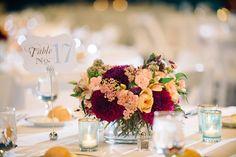Beautiful flowers for this unique wedding venue