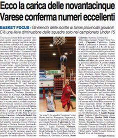 Basket 7 Laghi : Focus sulle giovanili del basket 7Laghi & Memorial...
