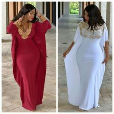 Find these Dresses at kaftancitra.com  Which one your fave 1 or 2 , Ladies ?  Their fab Instagram : @rumahkaftancitra  Shop at their website : http://www.kaftancitra.com