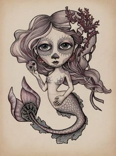 When I was little, I always dreamed of being a mermaid.