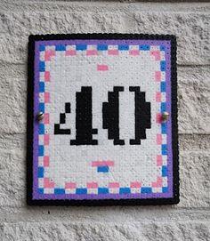 Strijkkralen huisnummer