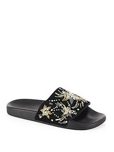 Slides by Rebecca Minkoff Flat Sandals b72ed5117fbd