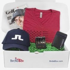 Mens Monthly Golf Gift Box Subscription - 1 Month