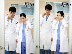 The Good Doctor ♥ Moon Joo Won as Park Shion ♥ Moon Chae-Won as Cha Yoon-Seo Good Doctor Korean Drama, Joo Sang Wook, Kim Young Kwang, Yoon Seo, Yoon Park, Moon Chae Won, Joo Won, Movie Couples, Drama Film