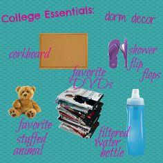 {College Essentials}: Dorm Decor @ Joie de Vivre: