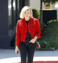 Chloe Moretz Out And About In Beverly Hills