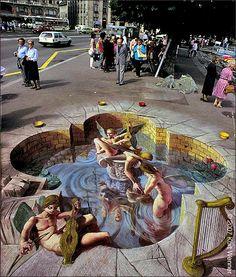 street art | Street art 3d - Opere d'arte da strada | Art Shok