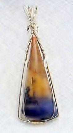 Tiffany Stone Opal, Bertrandite, rare gemstone jewelry, pendant