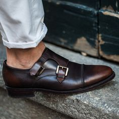Gordon Double Monks by 59 Bond St #shoes