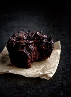 Chocolate Beet Muffins | Occasionally Eggs