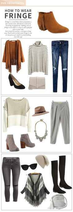 How To Wear Fringe | http://somethingaboutthat.com