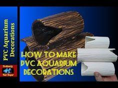 How To Make PVC Aquarium Decorations - Ordinary Fish Keeper - YouTube