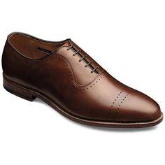 Men's Fashion & Shoes: Allen Edmond Vernon Dress Oxford Saddle Brown Calf...