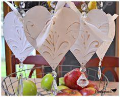 Hometalk Tin Heart Ornaments