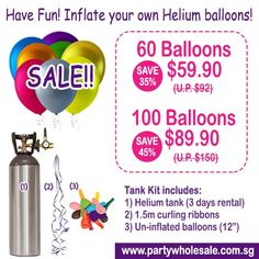8 Best DIY Helium Balloons by Renting Helium Tank images in
