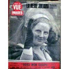 Point De Vue Images Du Monde N° 104 Du 01/06/1950 - La Reine Juliana. Voici Mon Equipe.
