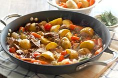 Easy vegetable and beef skillet recipe!