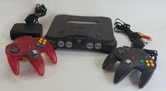 Japanese Nintendo 64 ( Used ) http://www.japanstuff.biz/ CLICK THE FOLLOWING LINK TO BUY IT ( IF STILL AVAILABLE ) http://www.delcampe.net/page/item/id,0397800131,language,E.html