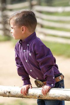 $17.99! free ship! CINCH Jeans Boys SHIRT Western  button up NWT TODDLER BABY BOY 3T #CINCH