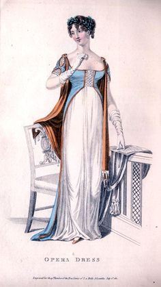 Opera dress, 1811