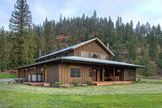 Casas rústicas por Uptic Studios