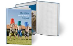 Make a Custom Notebook or photo album  looks great it it goes beyond using templates