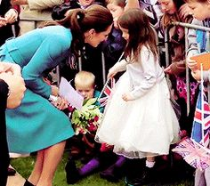 The Duchess of Cambridge http://24.media.tumblr.com/1521875cff6210b5aa682bc25cab7aca/tumblr_n3ssvxeyyr1ruue7yo3_250.gif
