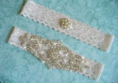 A personal favorite from my Etsy shop https://www.etsy.com/listing/162545593/elegant-rhinestone-and-lace-wedding