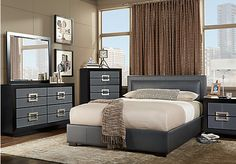 Shop For A City View Gray 5 Pc King Bedroom At Rooms To Go. Find King  Bedroom Sets That Will Look Great In Your Home And Complement The Rest Of  Your ...