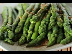 Six Sisters' Stuff video: Balsamic Asparagus.  One of the fastest side dishes I have ever made. #video #asparagus