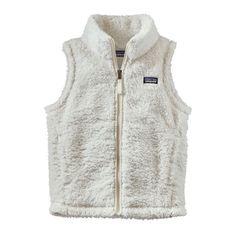 Patagonia Girls' Los Gatos Vest - Birch White