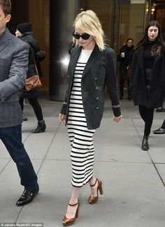 Emma Roberts and Ciara don preppy attire for Polo Ralph Lauren show at NY Fashion Week on February 12, 2016