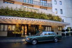 At the Dorchester Hotel, London ~ Where I stayed the 1st time I went to London.~J.
