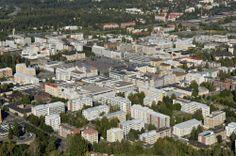 Kuopio city centre Finland, Paris Skyline, Centre, Cities, Dolores Park, Travel, Viajes, Trips, Traveling