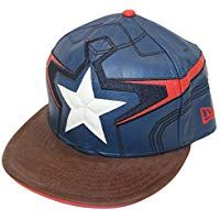 New Era 59fifty Character Armor Captain America Fitted Fitted Baseball  Caps 2868e41729e