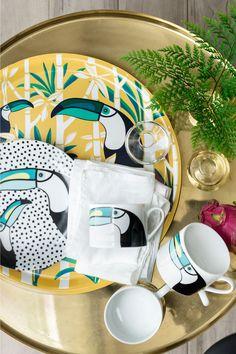 les accessoires et ambiances tropical vont être la tendance de cette été 2016 !